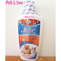 Sữa tắm Bio Jolie 200ml dưỡng lông chó mèo siêu mượt khử mùi hôi