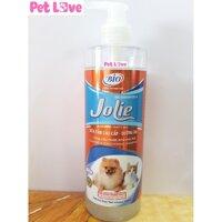 Sữa tắm Bio Jolie (450ml) dưỡng lông chó mèo siêu mượt khử mùi hôi