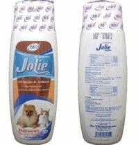 Sữa tắm Bio Jolie dưỡng lông khử mùi hôi cho chó mèo 150ml