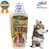 Sữa tắm bio lovely giúp dưỡng lông siêu mượt khử mùi hôi cho chó mèo-79306