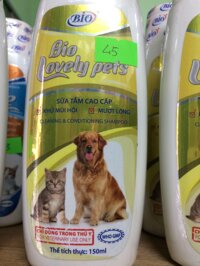 Sữa tắm BIO Lovely Pets cho chó & mèo 150ml