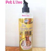 Sữa tắm Bio Lovely Pets (450ml) dưỡng lông chó mèo siêu mượt khử mùi hôi