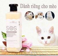 Sữa tắm dành cho mèo SOS 530ml