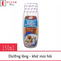 Sữa tắm dưỡng lông khử mùi hôi cho chó mèo - Bio Jolie 150ml