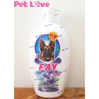 Sữa tắm Fay 5 sao (800ml) trị ve rận bọ chét khử mùi mượt lông chó mèo