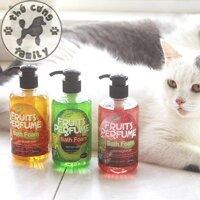 Sữa tắm hoa quả dành riêng cho mèo (Pomegranate) -  250ml - Family Pets