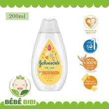 Sữa tắm chứa sữa, yến mạch Johnson's Baby 200ml