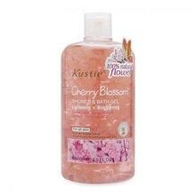 Sữa tắm hoa hồng KUSTIE Shower and Bath Gel 500ml