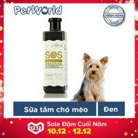 Sữa tắm phục hồi da SOS dành cho chó mèo 530ml(Đen)