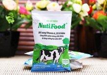 Sữa tiệt trùng NutiFood có đường túi 220ml
