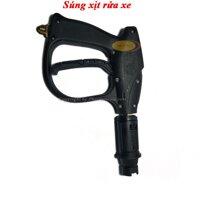 Sung xịt rửa xe cao áp chỉnh tia  cho máy rửa xe gia đìnhmáy rửa xe mini - Ren 14mm