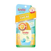 Sunplay Baby Mild SPF35+, PA++: Sữa chống nắng cho bé và da nhạy cảm