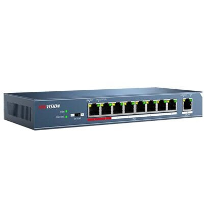 Switch Hikivision DS-3E0109P-E - 8-port 10/100Mbps PoE