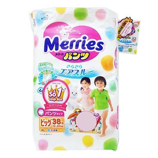 Tã quần Merries XL38 (trẻ từ 12 - 20kg)