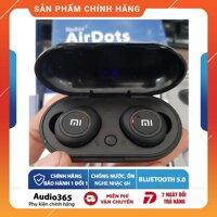 Tai Nghe Bluetooth AirDots Redmi2 Đen True Wireless Công Nghệ 5.0 Kèm Đốc sạc 2000mAh Tự Động Kết Nối nghe nhạc liên tục 6h [bonus]