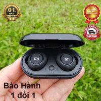 Tai Nghe Bluetooth AirDots Redmi2 Đen True Wireless Công Nghệ 5.0 Kèm Đốc Sạc  Cảm Biến Tự Động Kết Nối-LCTechnology