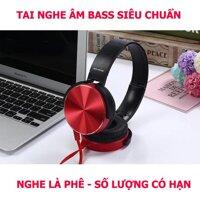 Tai Nghe Bluetooth và Tai Nghe chụp tai over-ear Extra Bass 450 Giảm Ồn Âm Bass Cực Chất