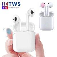 Tai nghe I14 TWS 5.0 Cảm Ứng Không Dây Bluetooth - Tai nghe True Wireless chất lượng cao