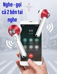 Tai nghe True Wireless TWS D012 - Bluetooth 5.0 - đàm thoại cả 2 tai - thiết kế đột phá