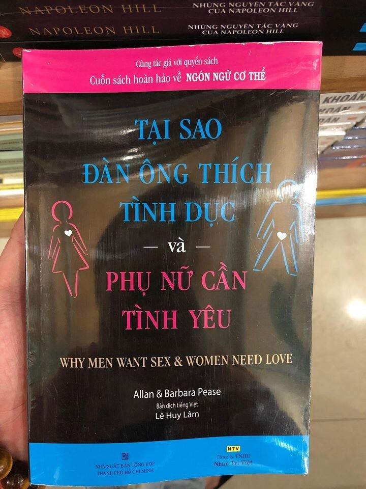 Tại sao đàn ông thích tình dục và phụ nữ cần tình yêu - Allan Pease & Barbara Pease