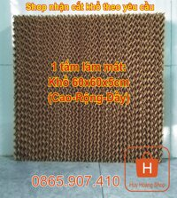 Tấm làm mát Cooling Pad Khổ 60x60x5cm