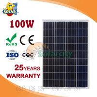 Tam pin nang luong mat troi poly Solarcity 100W