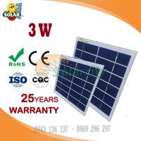 Tam pin nang luong mat troi  Poly Solarcity 3w-5v