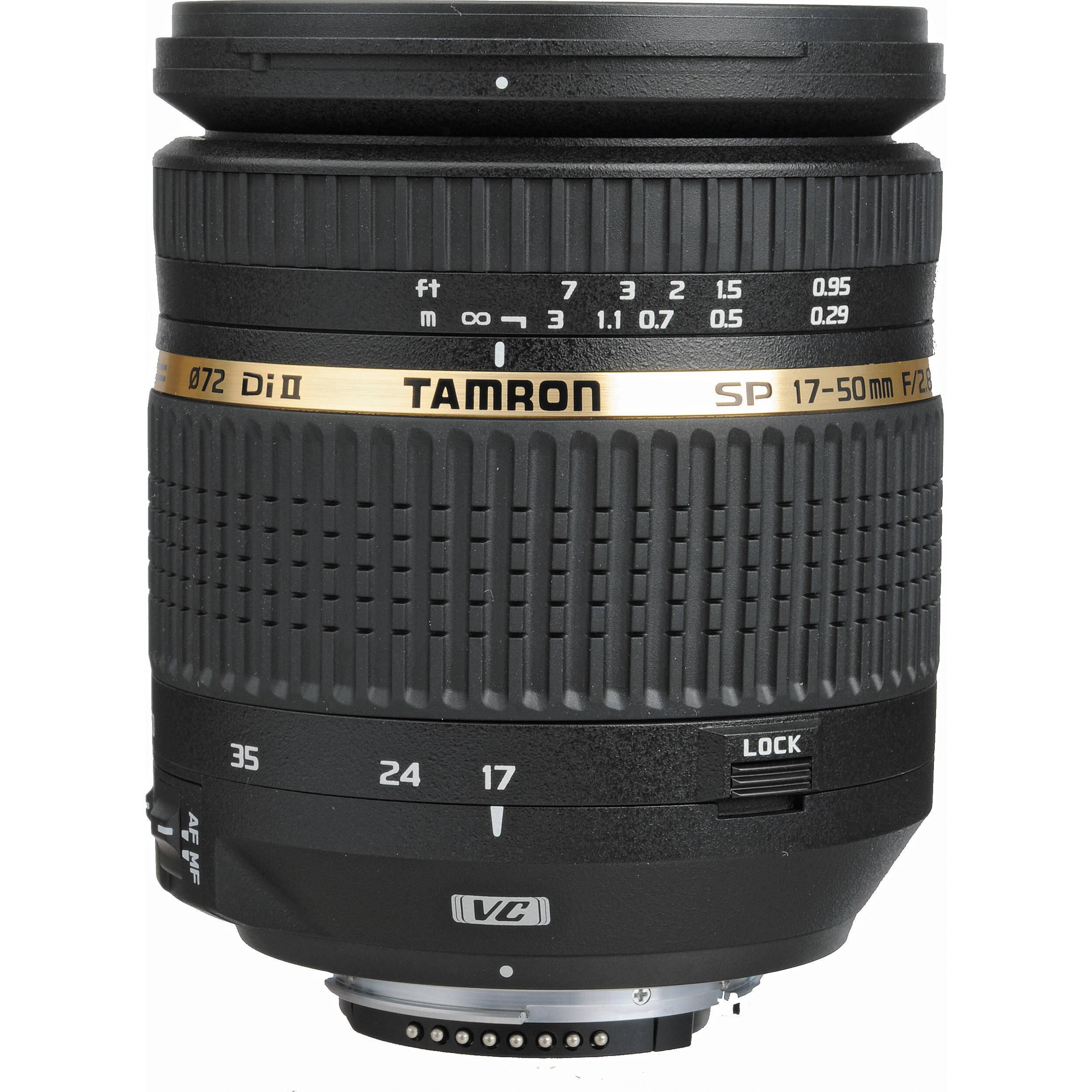 Ống kính Tamron SP AF 17-50mm F/2.8 XR Di II VC LD Aspherical [IF]