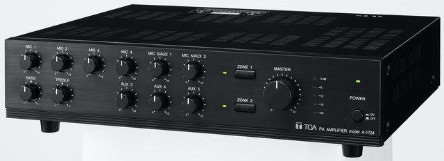 Amply Tăng âm truyền thanh liền Mixer TOA A-1724