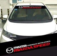 Tem dán kính lái chống nắng ô tô Mazda 01