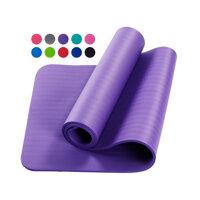 Thảm Tập Yoga Dày 10 Mm Thời Trang Giữ Sức Khỏe Cho Nam Và Nữ