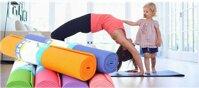 Thảm tập yoga dày 4 ly có túi đựng