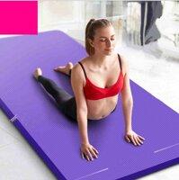 Thảm tập Yoga KIP21 độ dày 10mm (Tặng kèm túi và dây đeo)