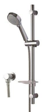 Thanh trượt sen tắm kèm bát sen và cút nối tường  TTSR105SMFU