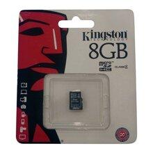 Thẻ nhớ Micro SD Kingston 8Gb ! - Thẻ nhớ Micro SD Kingston 8Gb