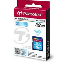 Thẻ Nhớ SDHC Transcend Wi-Fi 32GB