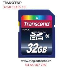 Thẻ nhớ Transcend SDHC Class 10 - 32GB