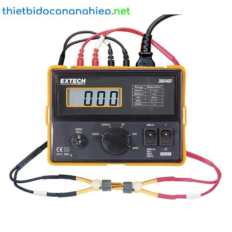 Máy đo điện trở chính xác cầm tay Extech 380460