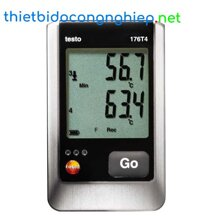 Thiết bị đo nhiệt độ Testo 176-T4