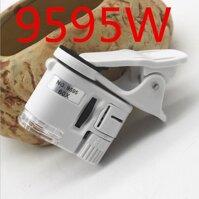 Thổi 1 60X Di Động Điện Thoại Kính Hiển Vi Ống Kính Zoom Micro Kẹp Camera Có Đèn Led