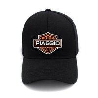 Thời Trang Xe Tay Ga Piaggio VESPA Xe Máy Tay Ga In Hình Nón Mũ Nam Nữ Cục Bông Mũ Bóng Chày