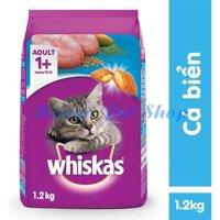 Thức Ăn Cho Mèo Whiskas Vị Cá Biển