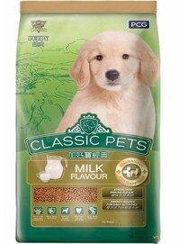Thức ăn Classic Pets dành cho chó con hương vị sữa  500 gm