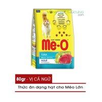 Thức ăn hạt cho Mèo Lớn Me-O 80gr - Vị Cá Ngừ - [Nông Trại Thú Cưng]