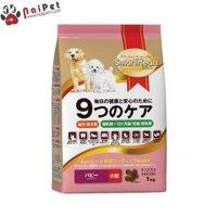 Thức Ăn Hạt Khô Cho Chó Con Smartheart Gold Puppy 1kg