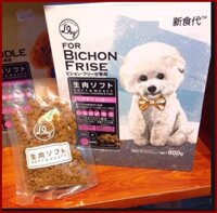 Thức ăn Hạt mềm chuyên dùng cho Chó Lông trắng. Nhật Bản. Hộp 800g.