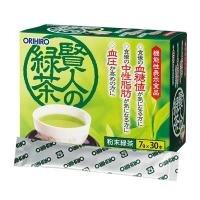 Thực phẩm chức năng Trà xanh Orihiro Sage 30 gói của Nhật Bản, làm giảm mỡ máu