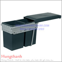 Thung doi gan canh 2x34 lit Hafele 600mm 503.38.546