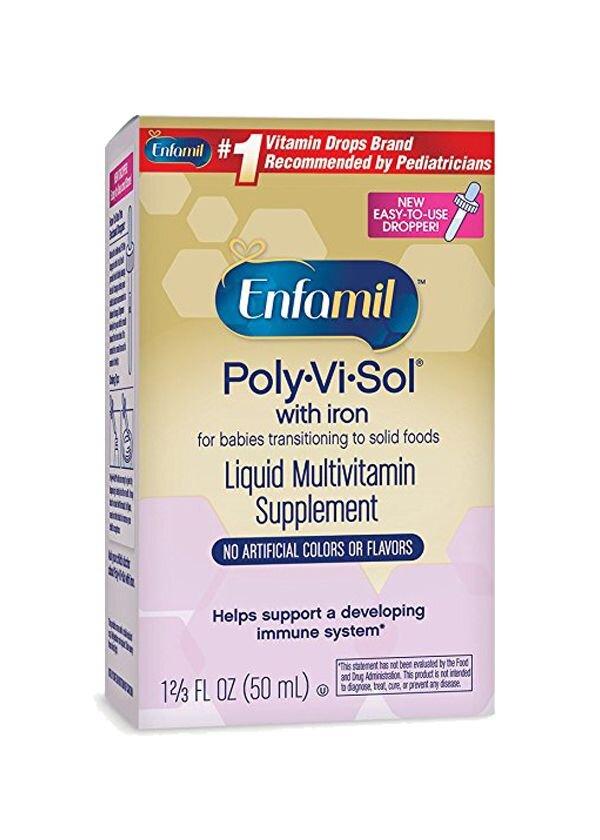 Vitamin tổng hợp Enfamil Poly Vi Sol 50ml