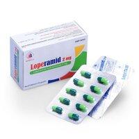 Thuốc tiêu hóa Loperamid 2mg Domesco